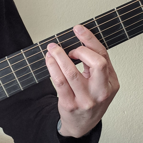 Playing Major Barre Chords for Guitar on the 6th String
