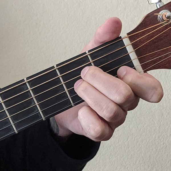 Playing the Open A Minor Chord on Guitar