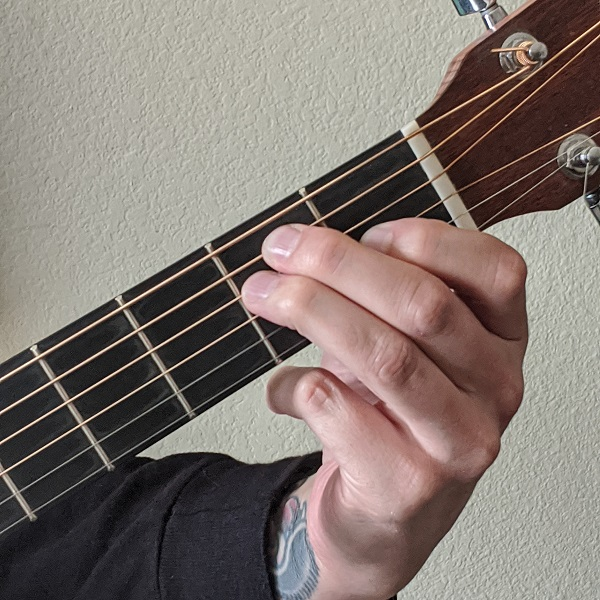 Playing the Open E Guitar Chord