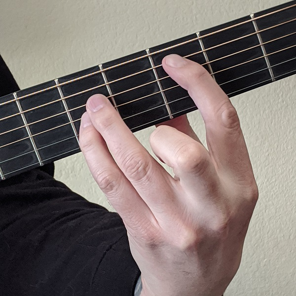 Playing a Power Chord on Guitar with the Root Note on the 5th string